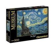 "Puslespill 500 Museum Van Gogh ""Starry Night"" Clem"