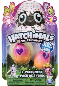 Hatchimals Colleggtibles S4 2Pk W. Nest