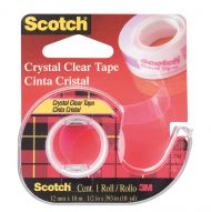 Tape Scotch Crystal 12mmx10m m/disp