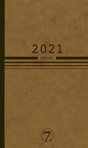 Lommekalender 2021 7.sans Datum Nature Uke A6