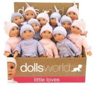Dolls World  Molly  Myk Kropp M/Sovøyne (25Cm)