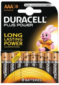 Batteri Duracell Plus Power Aaa (8)