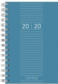 Lommekalender Grieg Gemini Trend 2020 blå