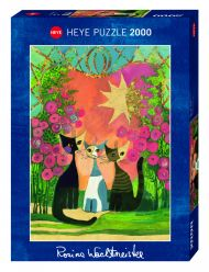 Puslespill 2000 Wachtmeister Roses Heye