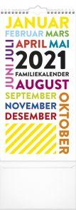Familiekalender 2021 Trend Art Måned