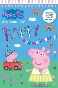 Tegneblokk Peppa Pig A5