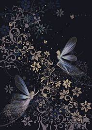 Doble kort 167x118 Jewels  Fairyland