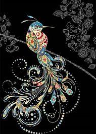 Doble kort 167x118 Jewels  Bird of Paradise