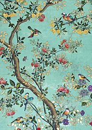 Doble kort 167x118 Decoratives Blue Panel