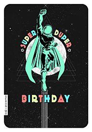 Kort Geronimo Super Duper Bday Spaceman