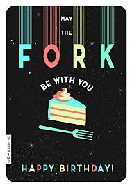 Kort Geronimo Fork Be With You Birthday