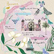 Kort Cityscapes Havana