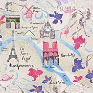 Kort Cityscapes Paris