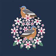 Kort I Like Birds Chaffinch Bloom
