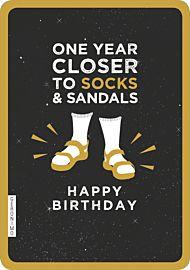 Kort Geronimo Socks Sandals
