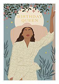 Kort Fierce Fabulous Birthday Queen