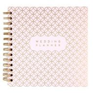 Journal Grey And Foil Wedding Planner