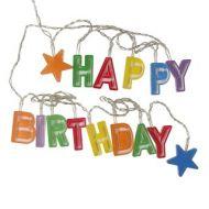 Birthyay Multi Happy Birthday Lights