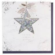 Julekort PC Star Dec Confetti