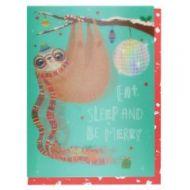 Julekort PC Eat Sleep And Be Merry