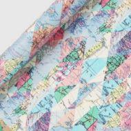 Gavepapir Diamond Maps 3M Roll Wrap