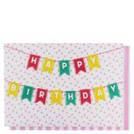 Systemkort PC Bunting Happy Birthday