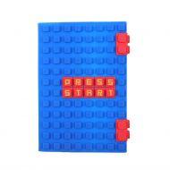 Notatbok Ok A5 Silicone Pixel