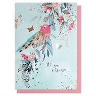 Kort Its Your Birthday Bird