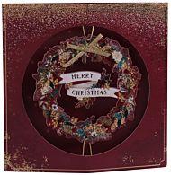 Julekort Spinning Wreath