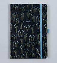 Kalender 2021 Agenzio Blue B5 Uke