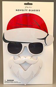 Briller Santa Med Skjegg