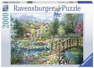 Puslespill 2000 Sommer Idyll Ravensburger
