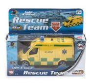 Leke Ambulanse m/Lys Og Lyd