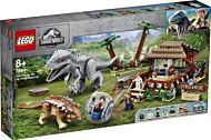 Lego Gyrokule-eventyr: Indominus Rex mot Ankylosau