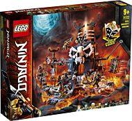 Lego Skalleheksemesterens fangehull 71722