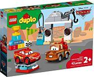 Lego Lynet McQueen på billøp 10924