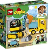 Lego Lastebil og beltegravemaskin 10931