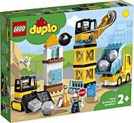 Lego Byggearbeid med rivningskule 10932