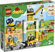 Lego Byggearbeid med tårnkran 10933