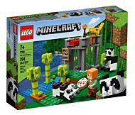 Lego Pandahjem med park 21158