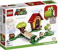 Lego Ekstrabanen Marios Hus og Yoshi 71367
