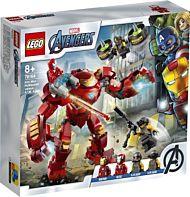 Lego Iron Man Hulkbuster mot A.I.M.-agent 76164