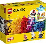 Lego Kreativitet m/gjennomsiktige klosser 11013