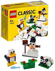 Lego Kreativitet m/hvite klosser 11012