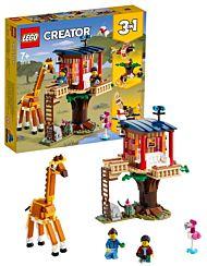 Lego Safaritrehytte med ville dyr 31116