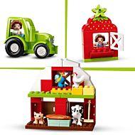 Lego Låve, traktor og bondegårdsdyr 10952
