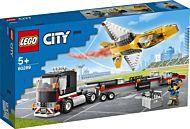 Lego Semitrailer med oppvisningsfly 60289