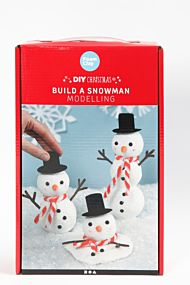 Jul Bygg En Snømann