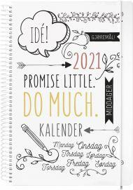 Kalender 2021 Doodle A5 Uke