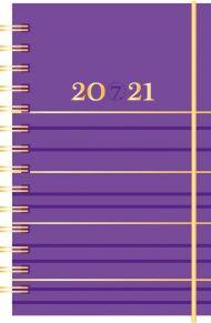 Kalender 7.sans Neon, kartong, spiralisert 20/21